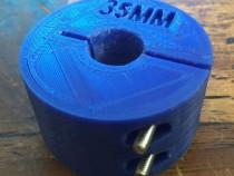 Limitator adancime de gaurire pentru freza de 15, 25, 35mm