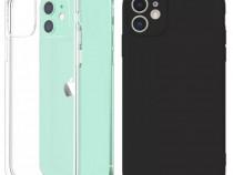 Iphone 12 / MINI / PRO /MAX Husa Ultra Slim Silicon Transpar
