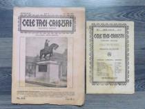 Carte veche revista cele trei crisuri sase numere