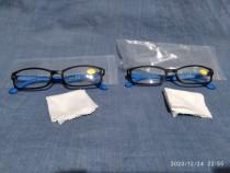 Ochelari de citit albastri dioptrie +1