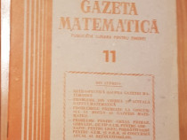 Gazeta matematica - Nr. 11 din 1985