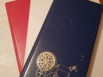 Set albume foto Set compus din 3 albume, rosu , alb albastru