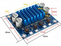 Kit modul amplificator audio stereo auto 2 x 30 w clasa d