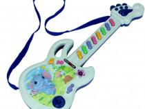 Chitara muzicala jucarie copii jucarie pe baterii