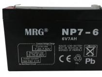 Acumulator plumb acid MRG , 6V-7Ah, Reincarcabil, Negru C427