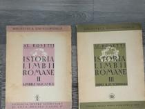 Carte veche alexandru rosetti istoria limbii romane