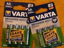 Acumulatori Baterii AA VARTA Ni-MH 2100mAh R6 set de 4 Reinc