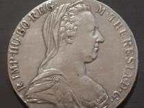 Moneda argint Taler Maria Theresia 1780