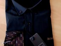 Cămăși bărbați H,Boss super calitate, logo brodat