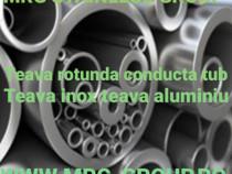 Teava 10x1.5mm aluminiu alama cupru inox otel inoxidabil