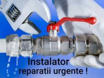 Instalator sanitare si termice reparatii urgente