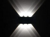 Aplica perete LED exterior-interior curbata 6W QC21