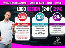 Grafica logo, design logo, sigla ( 24 ore ) website