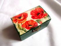 Cutie din lemn decorata 38265