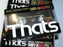 Casete audio That's MR-X60 Pro
