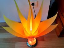 Veioza noptiera,birou,1 bec,tactil,3 faze ilumin,portocalie