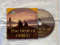 The best of grieg cd original cu timbru