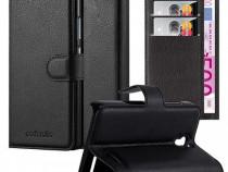 Husa Telefon Wallet book Alcatel One Touch Pop S3 black