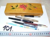 Penar vechi cu ustensile de scris, anii 1960-1970 (cod 101)