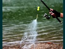 Plasa de pescuit pentru lanseta