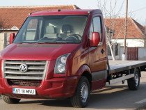 Vw Crafter cu Clima Platforma auto in acte! - an 2008, 2.5 T