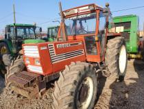 Tractor fiat 100-90 dt, cutie mecanica 4x4, set greutății