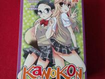 Kanokon Omnibus Manga (Vol. 7, 8, 9)