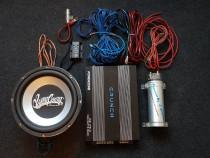 Set Amplificator,Difuzor bass,Condensator,Hi/Low,Cabluri