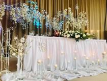 Decor prezidiu nunta botez evenimente petrecere