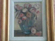 Tablou cu flori anemone de Patrascu