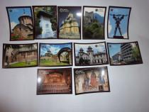 Cărți poștale (set 11 bucăți)