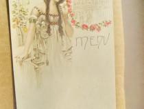 C76-F.J.CAILLER-Art Noveau-Reclama litografie ciocolata 1900
