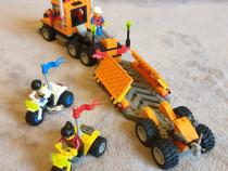 Lego 6739, Camion si patforma cu motociclete