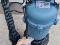 Pompa apa submersibila pentru ape murdare cu tocator + cutit