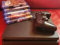 Ps 4 slim / Playstation 4 / 1 controller / 500gb / +5 JOCURI