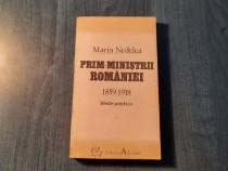 Prim ministrii Romaniei ( 1859 - 1918 Marian Nedelea