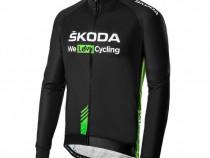 Geaca Barbati Oe Skoda We Love Cycling WLC Verde / Gri