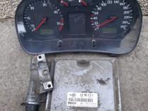 Kit pornire(calculator,ceasuri bord,cheie) VW Golf 4 1.9tdi