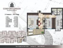 Apartament 3 camere, decomandat, sector 5 Rahova
