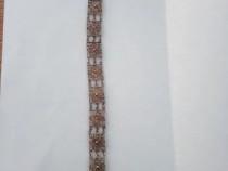 Bratara de argint veche lucrata in filigram