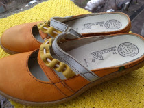 Papuci piele Waldlaufer, mar 39 (24.5 cm)