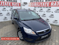 Ford Focus 2009-Benzina-Navi-RATE-