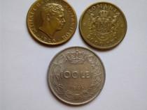 3 monede colecție romania