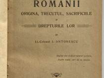 I. Antonescu Romanii origina trecutul sacrificiile 1919