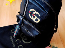 Rucsac Gucci logo auriu new model