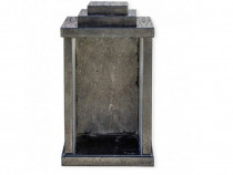 Felinar granit negru 30 x 20 x 20 cm