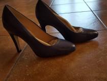 Pantofi din piele Kioma/Blu marimea 39