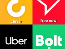 Soferi Uber, Bolt, Free Now, Clever