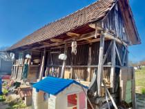 Cotarcă din Banat cu structura lemn vechi stejar