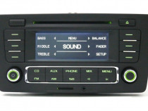 Skoda RCN Bluetooth Radio SDCard MP3 Aux Handsfree Streaming